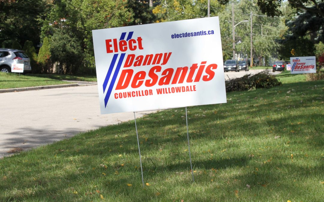Ward 18 electoral district has 18 candidates, including Danny DeSantis and John Filion