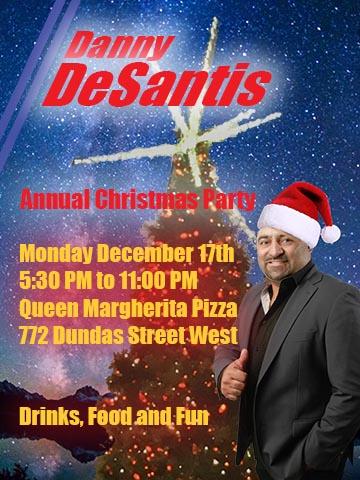 The Danny DeSantis Christmas Party Promises to Become an Annual Event